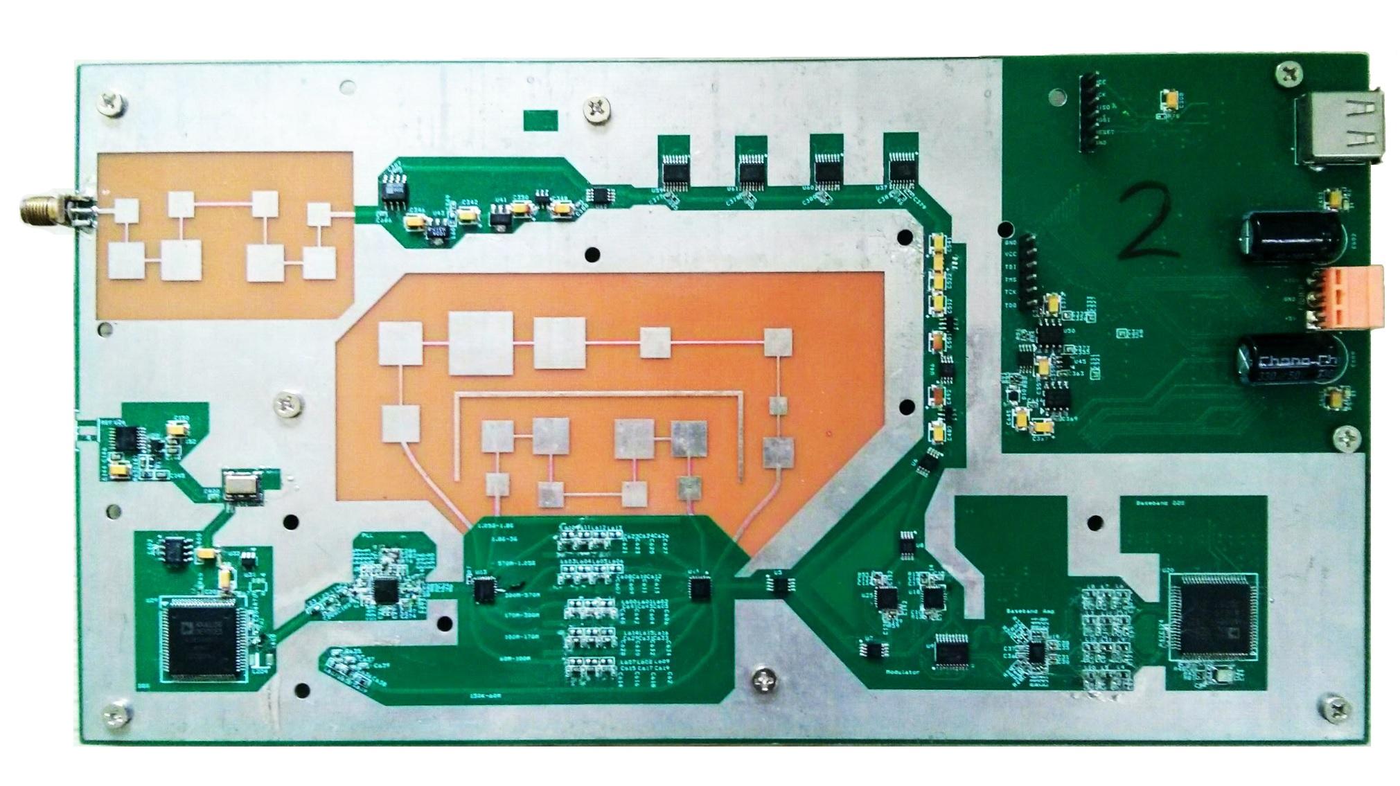 Fig. 2. Photo of the prototype