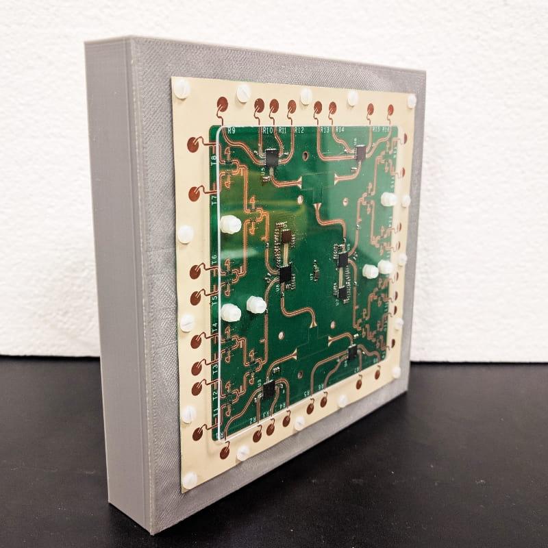 Portable 24-GHz 3D MIMO Radar
